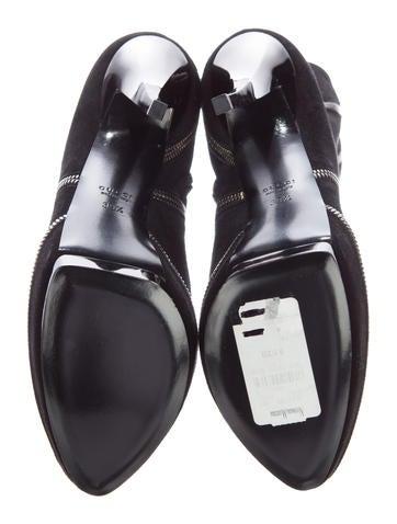 Suede Platform Boots