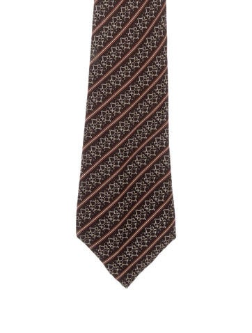 Gucci Printed Silk Tie None