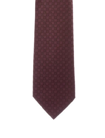 Gucci Silk Patterned Tie None