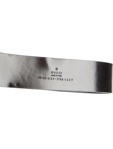 Logo-Embellished Leather Belt
