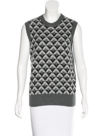Gucci Fall 2015 Mohair Sweater Vest w/ Tags