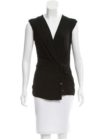 Gucci Knot-Accented Sleeveless Top None