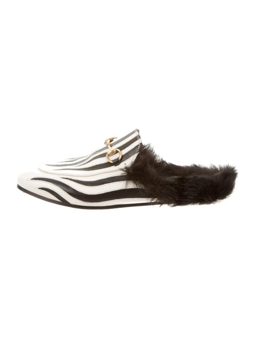 d1f5f33be Gucci Princetown Zebra Mules - Shoes - GUC119292 | The RealReal