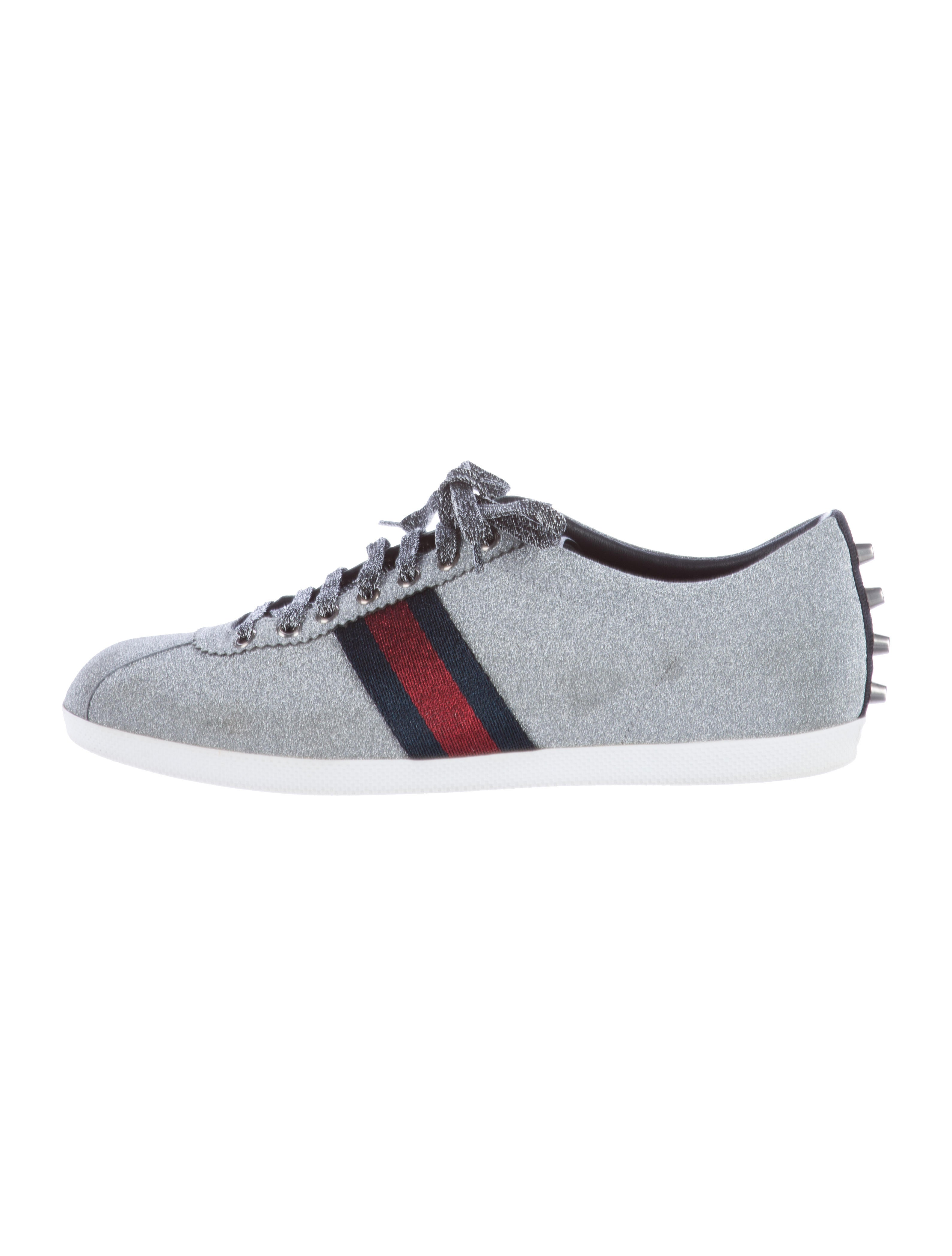 a9338d2ef78 Gucci Bambi Glitter Sneakers - Shoes - GUC119331