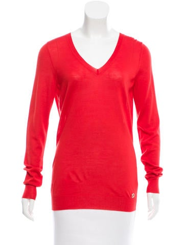 Gucci Cashmere V-Neck Sweater w/ Tags None