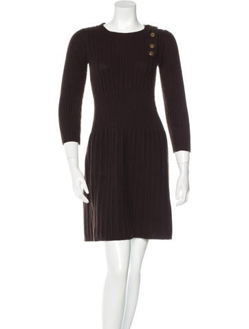 Gucci Cashmere Sweater Dress None