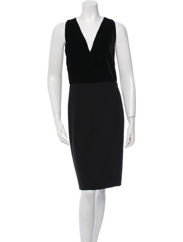 Gucci Wool Sleeveless Dress None