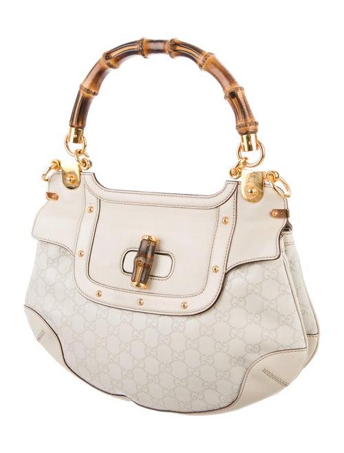 6d77a713c608 Gucci Guccissima Peggy Bamboo Top Handle Bag - Handbags - GUC120040 ...