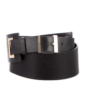 gucci wide waist belt accessories guc120288 the realreal