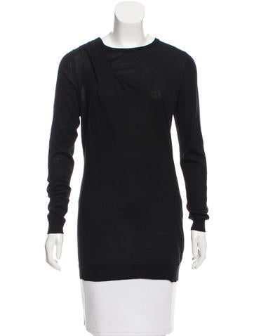 Gucci Long Sleeve Crew Neck Top None