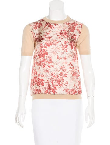 Gucci Resort 2016 Floral Sweater w/ Tags None