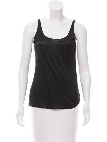 Gucci Sleeveless Jersey Top None