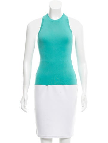 Gucci Knit Sleeveless Top None
