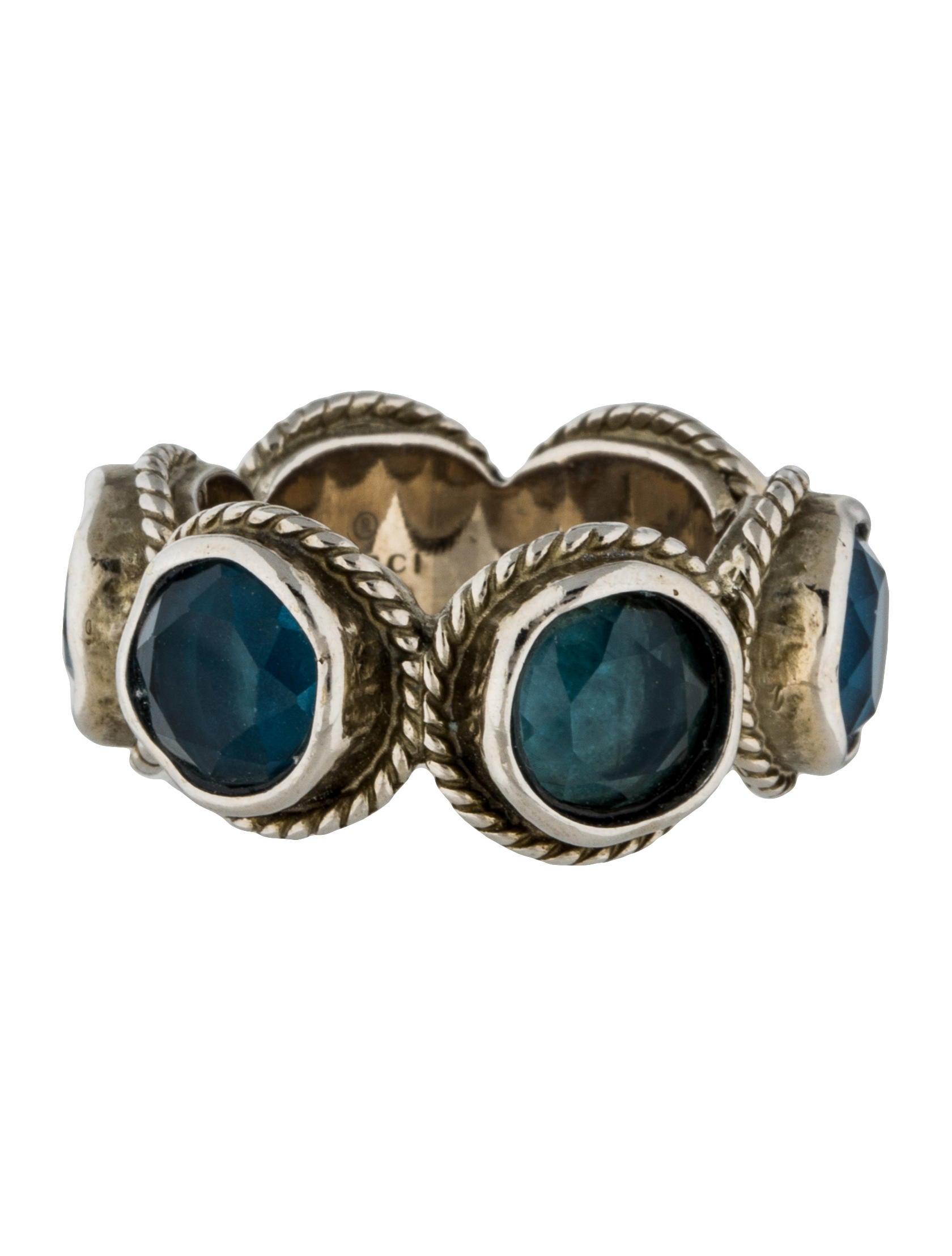 8502ff1aa Gucci Swarovski Crystal Ring - Rings - GUC121242 | The RealReal