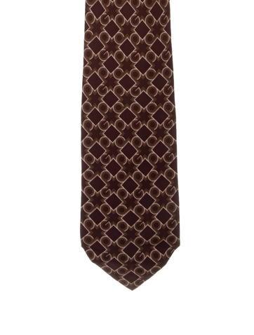 Gucci Silk Printed Tie None