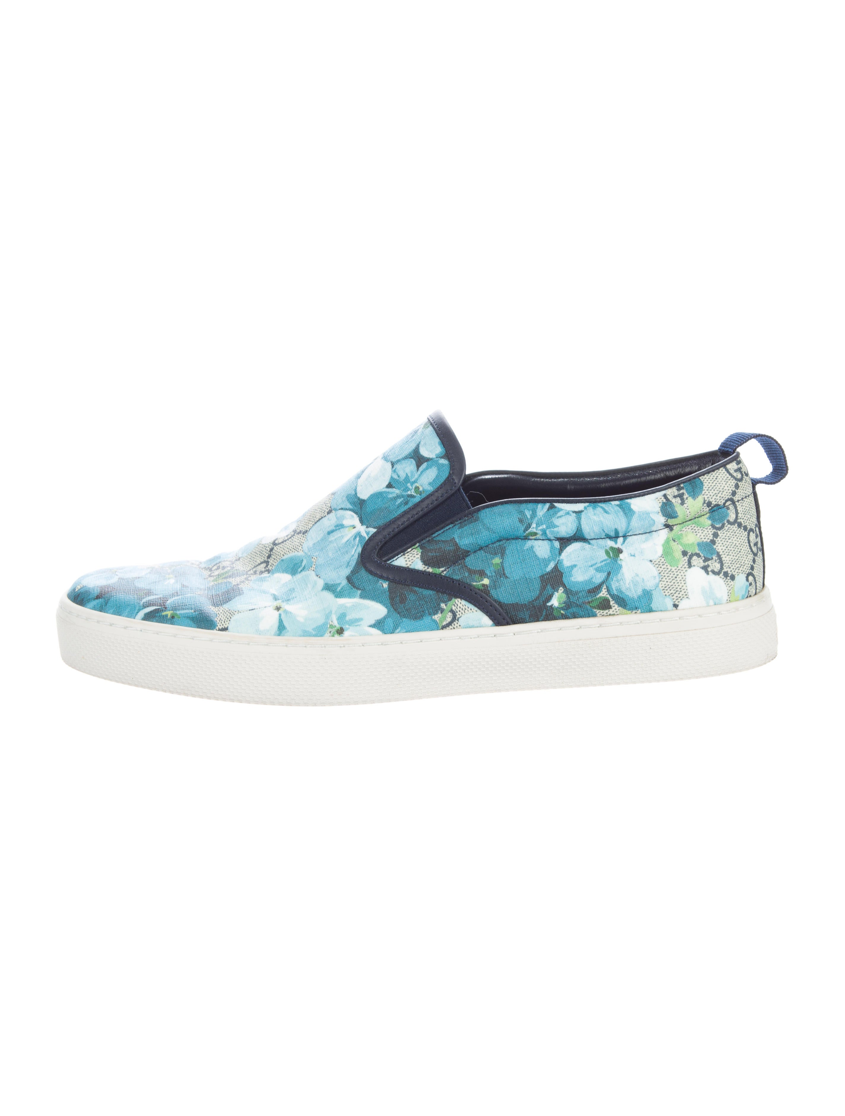 c1fda882f53 Gucci GG Blooms Slip-On Sneakers - Shoes - GUC121788