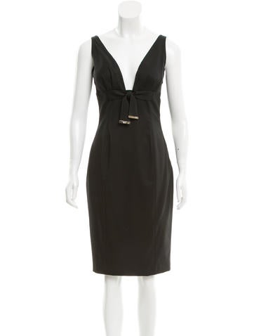 Gucci Sleeveless Sheath Dress None