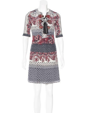 Gucci Printed Knee-Length Dress None