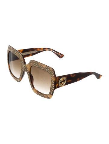 2017 Embellished GG Sunglasses