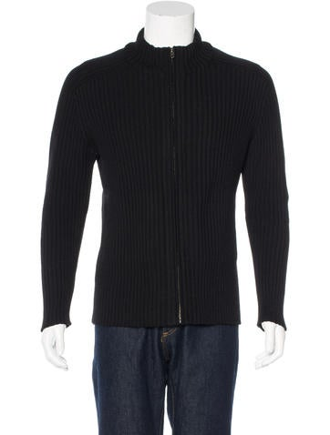 Gucci Wool Rib Knit Sweater None