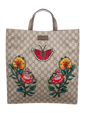 GG Supreme Embroidered Tote w/ Tags