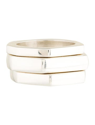 Gucci Set Of Three Stacking Rings None