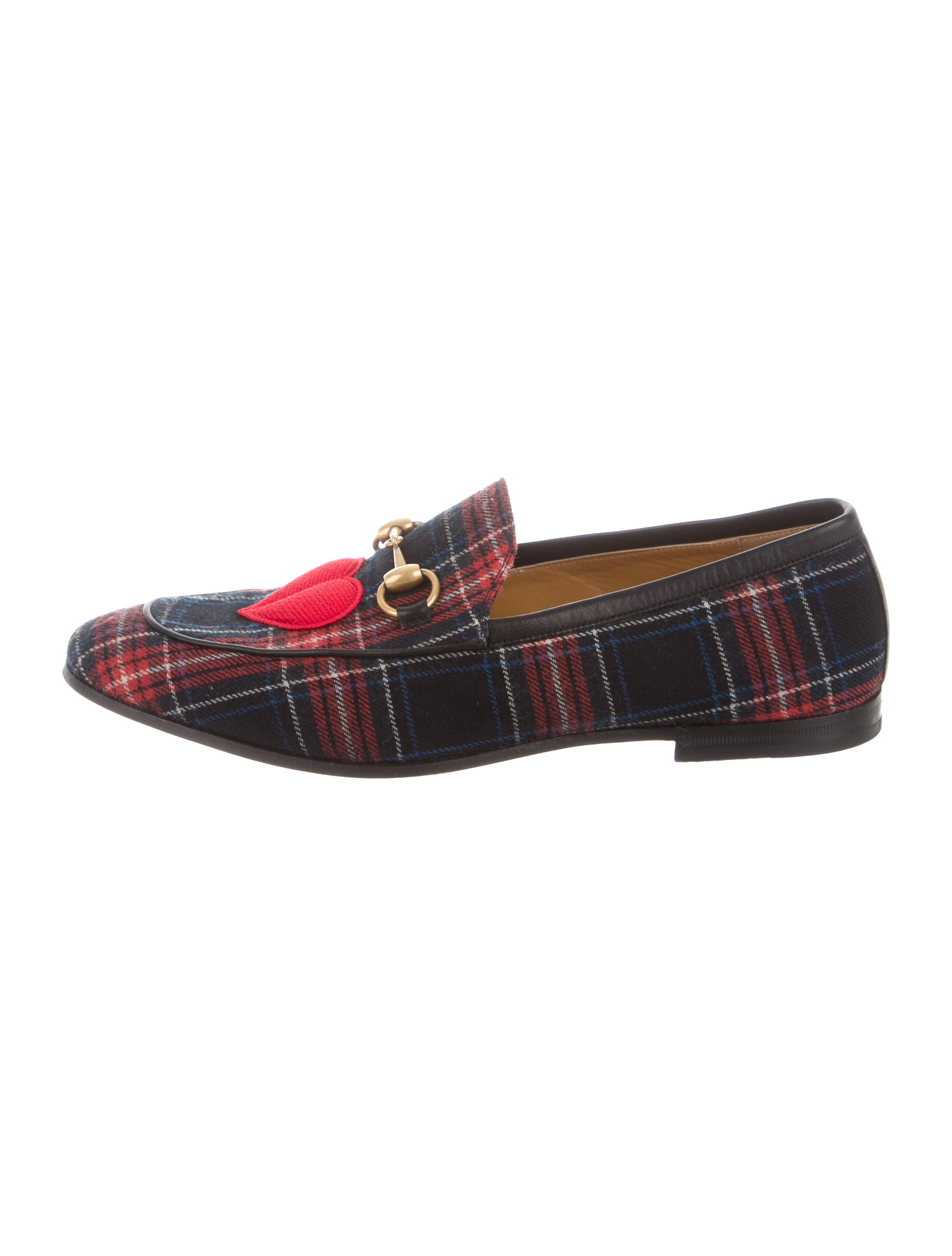 2fca1a208d1 Gucci New Jordaan Plaid Horsebit Loafers - Shoes - GUC123377