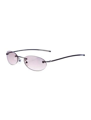Rimless Tinted Sunglasses