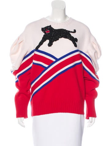 Gucci Fall 2016 Panther Sweater w/ Tags None