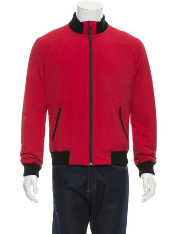 Gucci Rib Knit-Trimmed Lightweight Jacket None