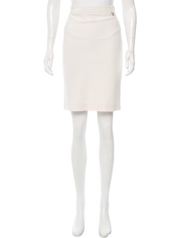Gucci Knee-Length Pencil Skirt None