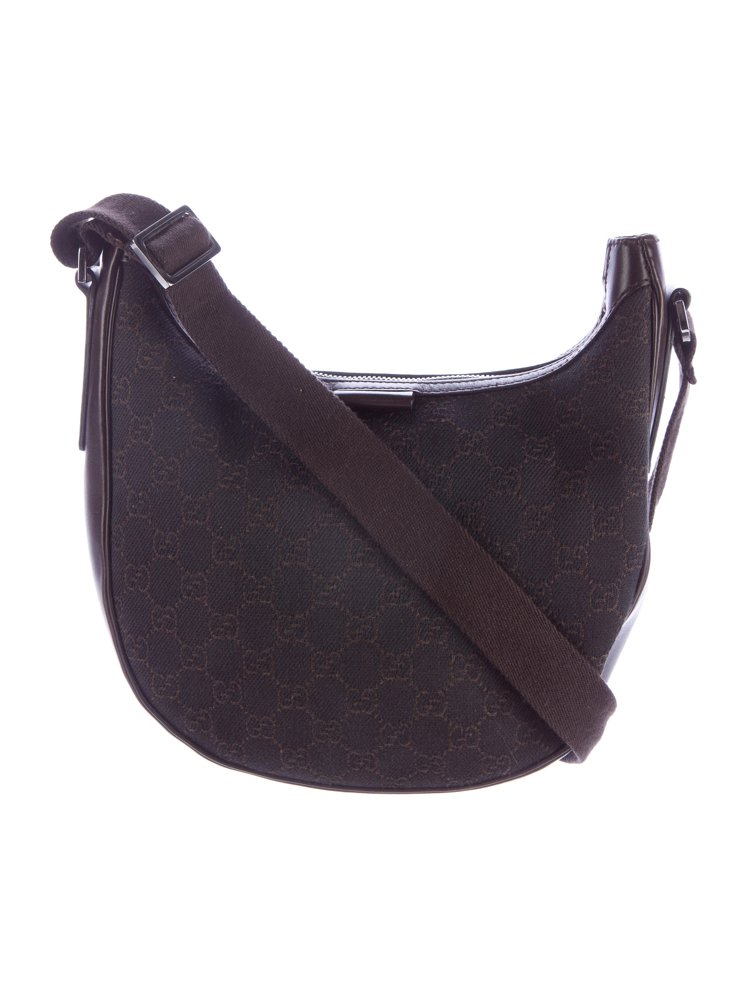 ad3d08dc5bb9 Gucci GG Denim Crossbody Bag - Handbags - GUC125002