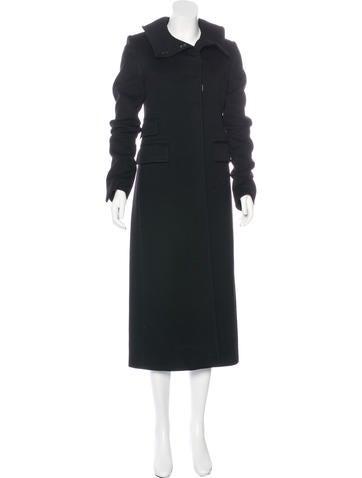 Gucci Wool & Cashmere Coat None