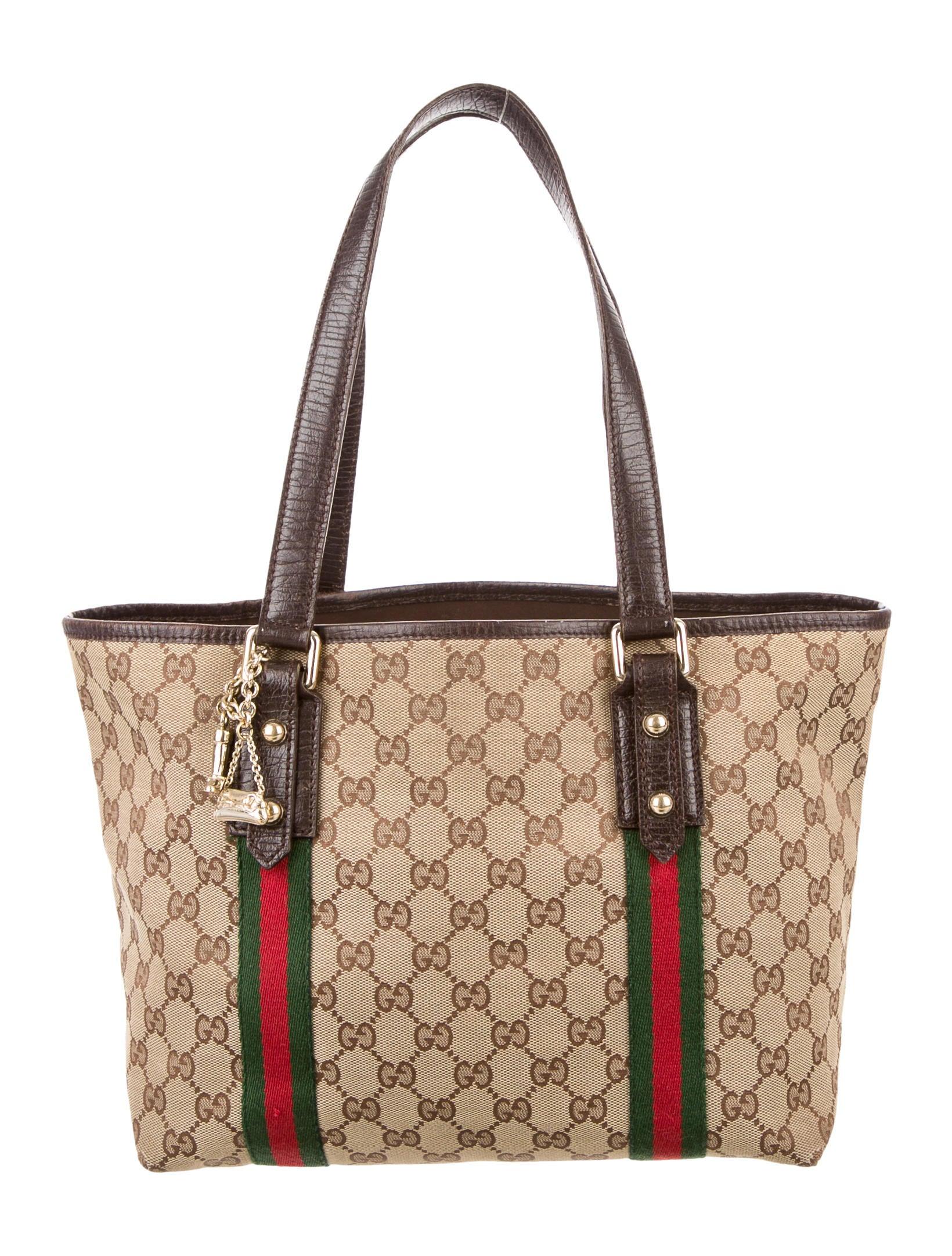 5a89f054e090 Gucci Small GG Jolicoeur Tote - Handbags - GUC125508 | The RealReal