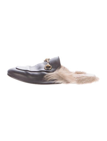 2017 Princetown Fur-Lined Mules