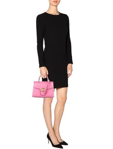 GG Marmont Top Handle Bag