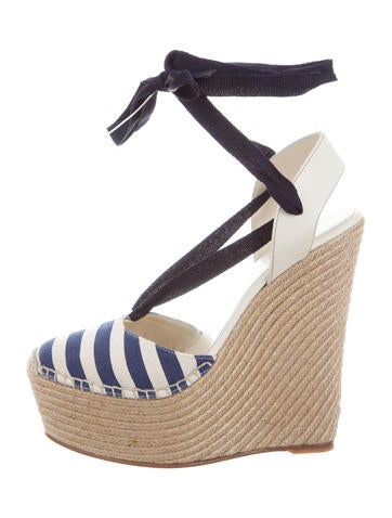 Gucci Alexis Wedge Sandals None