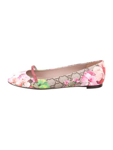 Gucci GG Bloom Flats