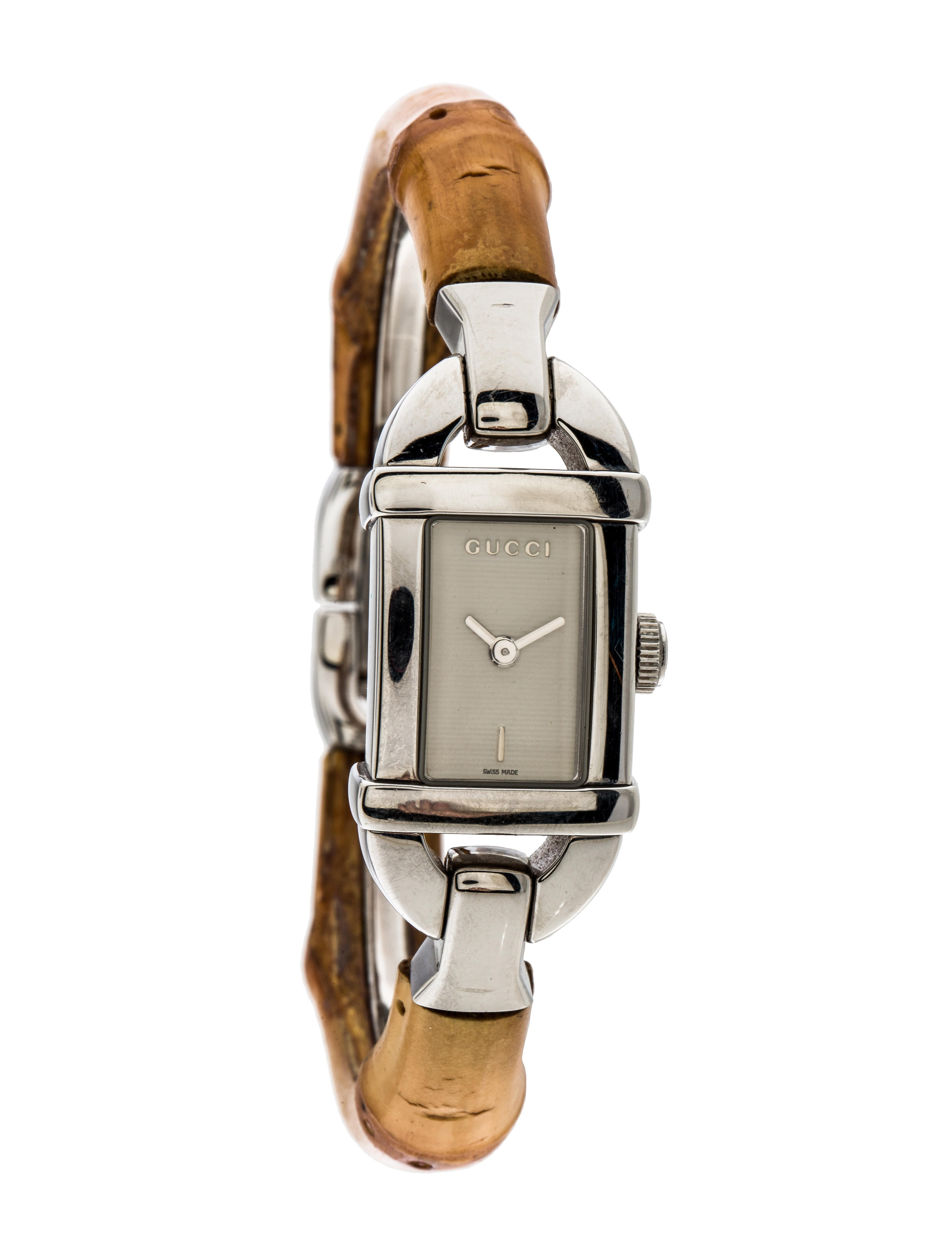 4b05b3880e2 Gucci Bamboo Watch - Bracelet - GUC126551