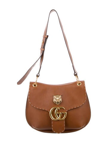 Gucci 2016 GG Marmont Leather Shoulder Bag