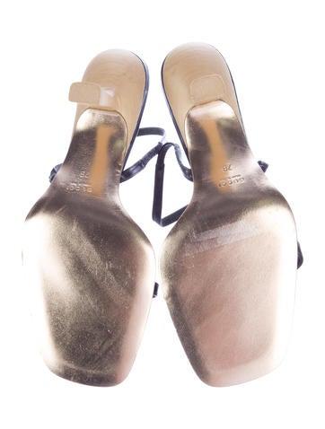 Embellished Slingback Sandals