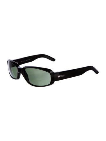 Rectangular Tinted Sunglasses