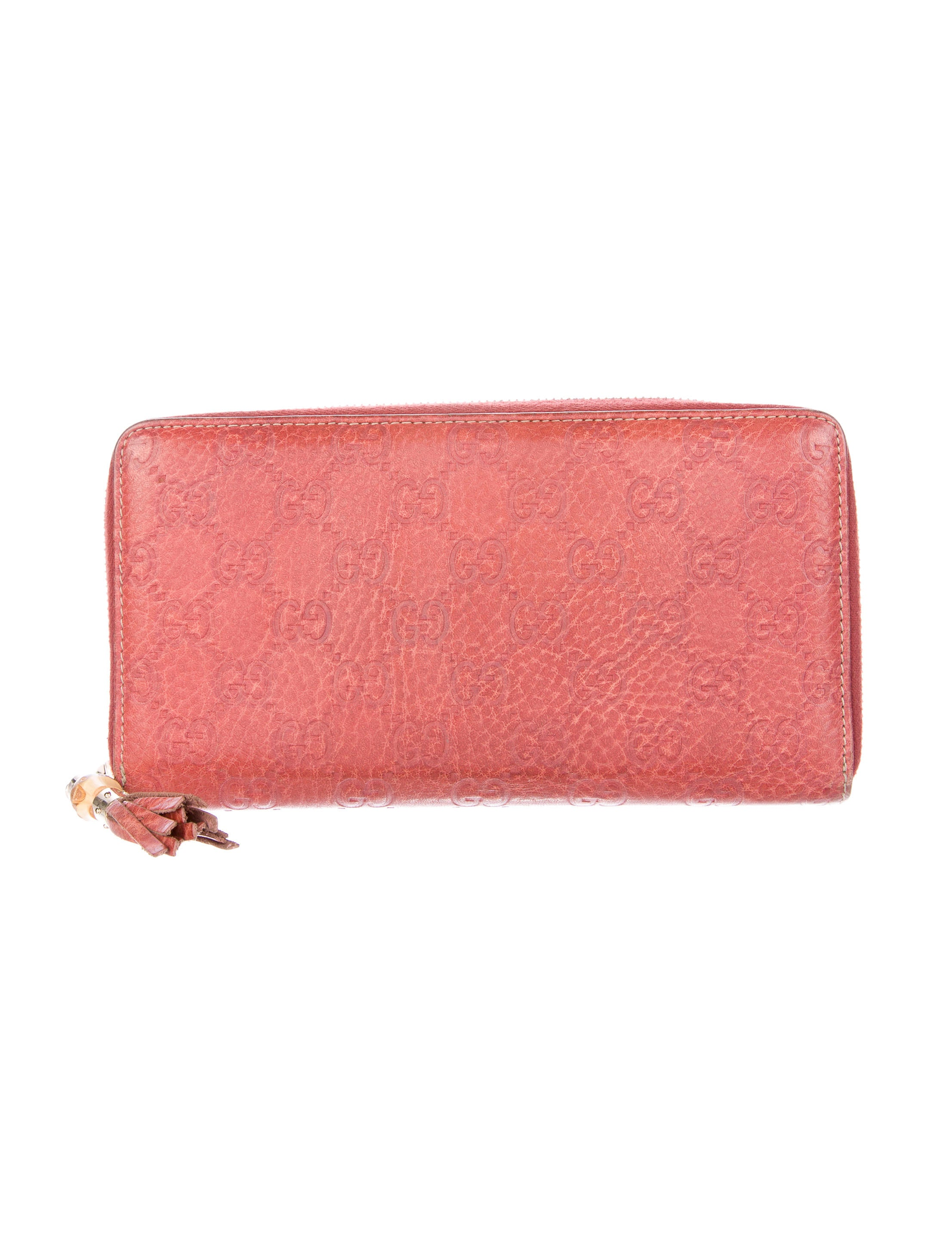 a73509e4192d Gucci Bamboo Tassel Zip-Around Wallet - Accessories - GUC127702 ...