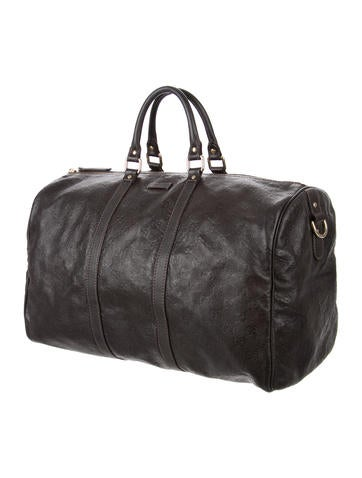 Guccissima Carry-On Duffle