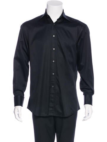 Gucci french cuff shirt clothing guc128521 the realreal for French cuff dress shirts for sale