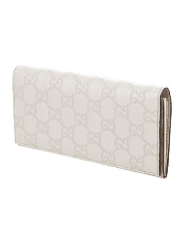 Guccissima Continental Wallet