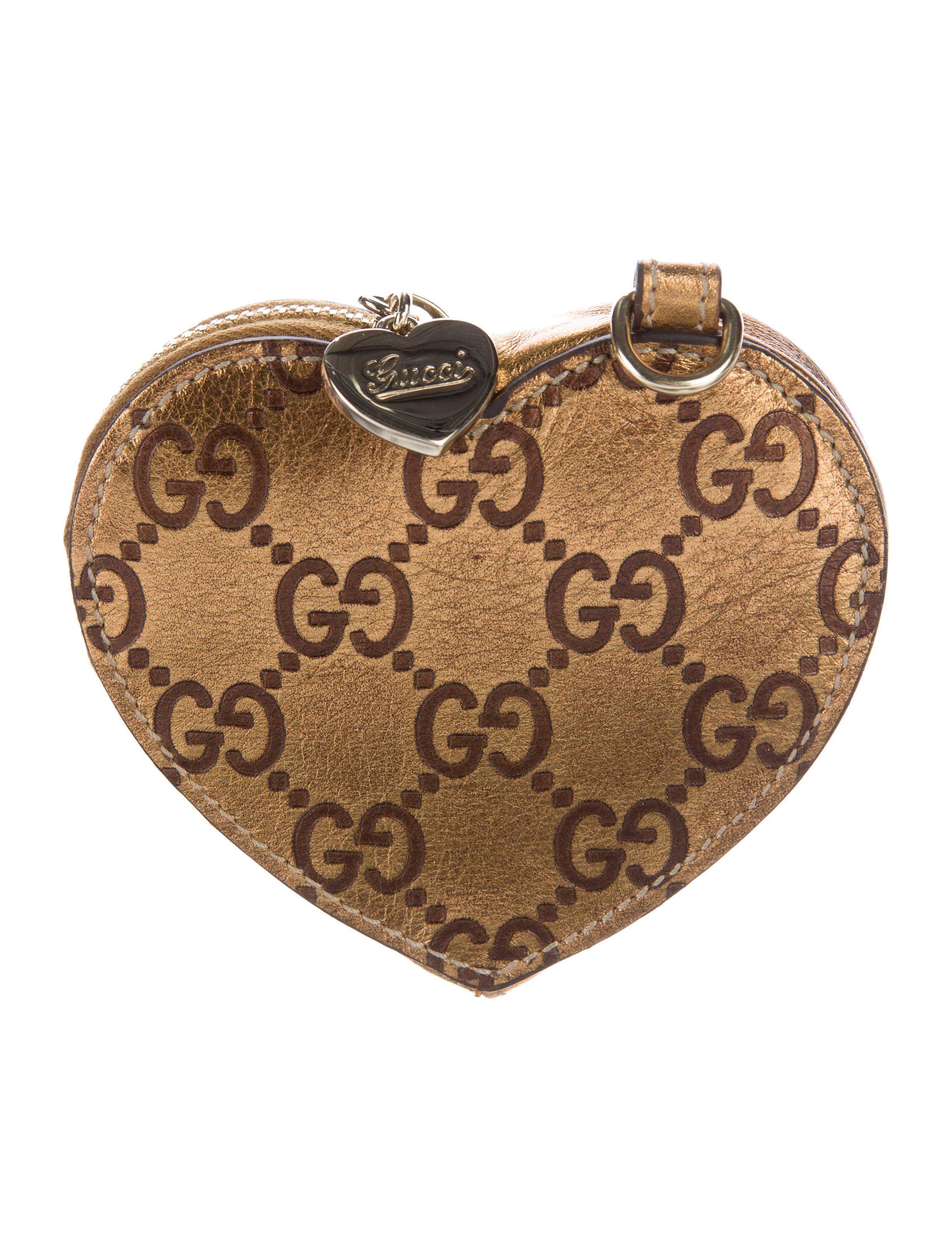 0ce99f0ed86a Gucci Guccissima Heart Coin Purse - Accessories - GUC129107   The ...