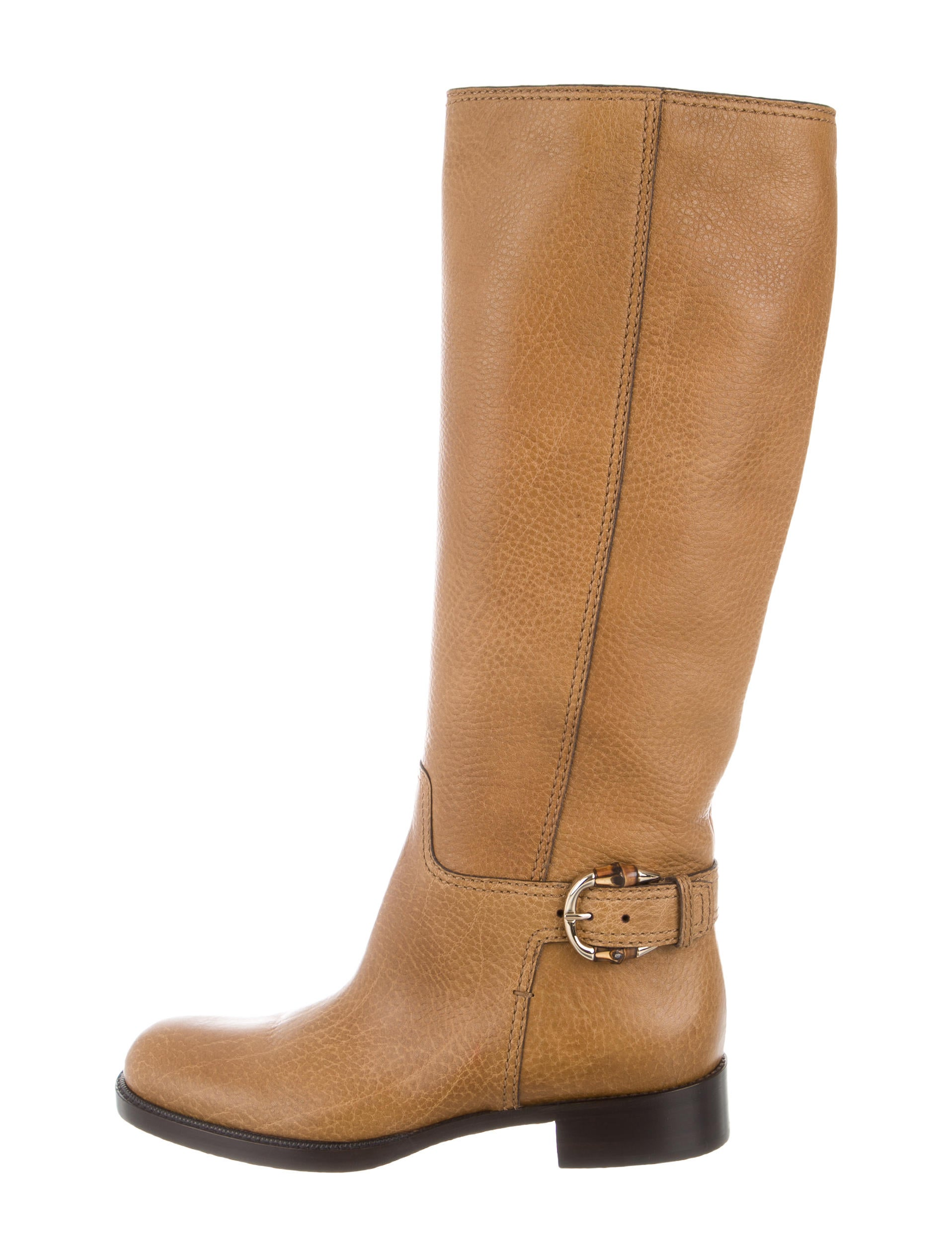 gucci bamboo buckle boots w tags shoes guc131063