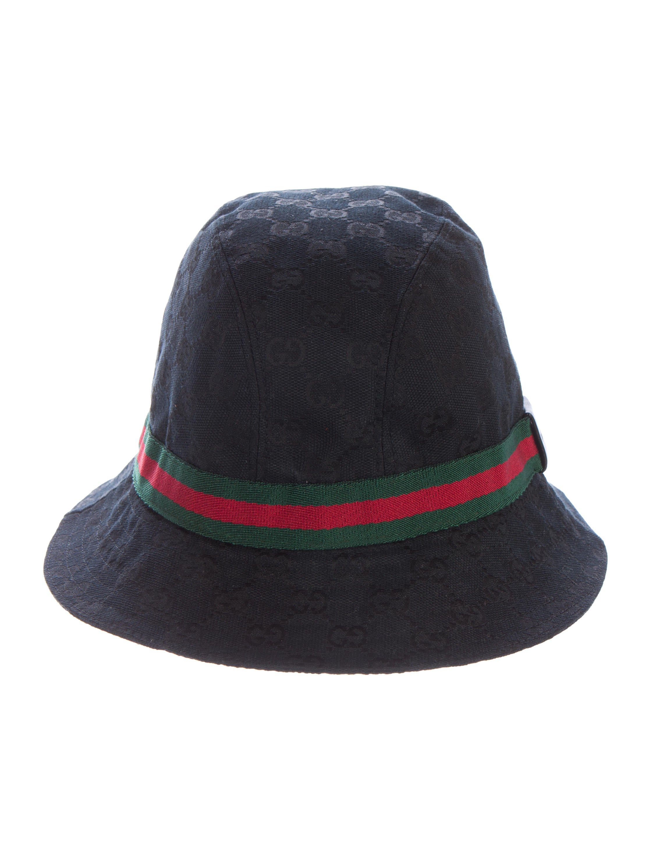gucci gg canvas bucket hat accessories guc131342 the realreal. Black Bedroom Furniture Sets. Home Design Ideas