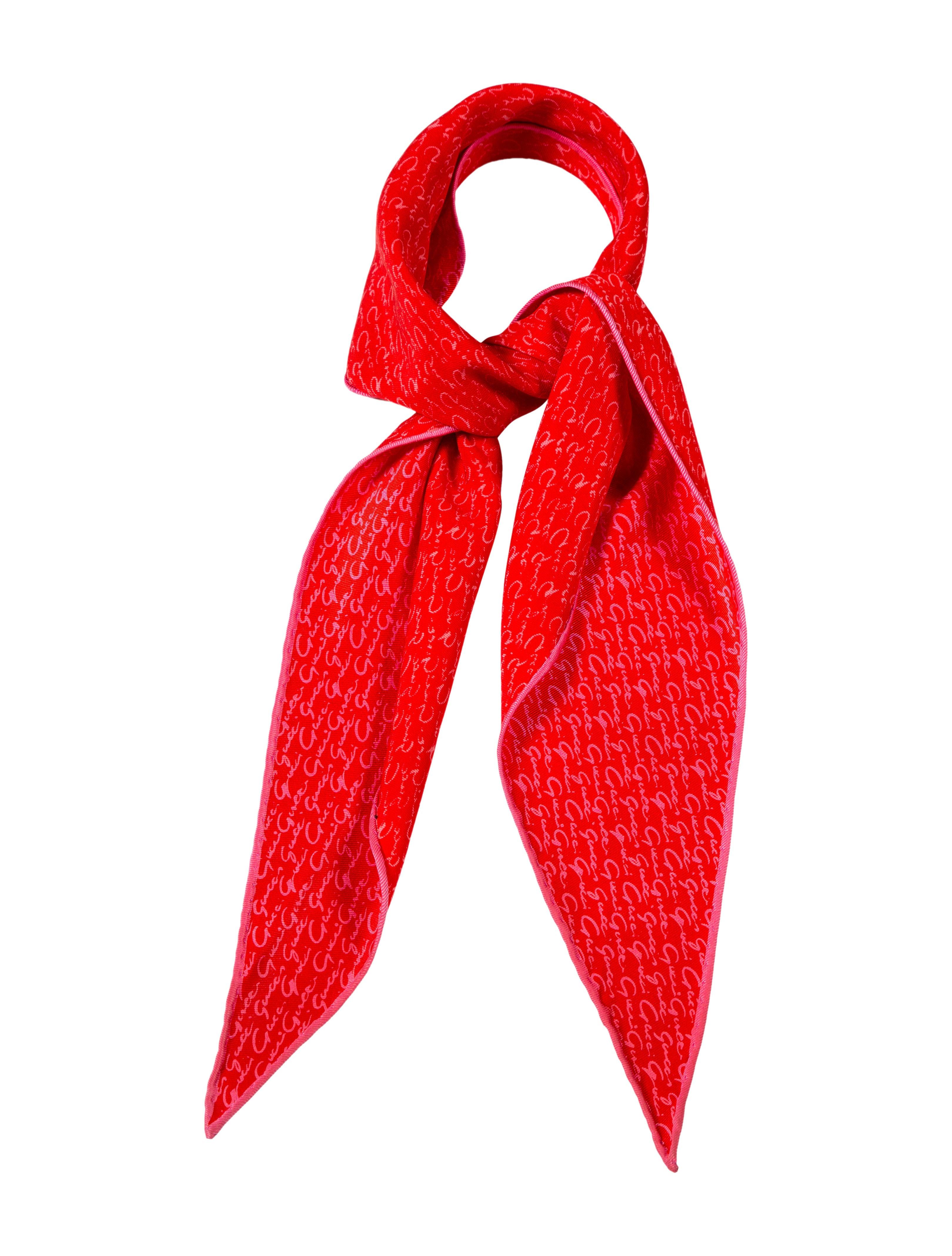 gucci logo scarf accessories guc131414 the